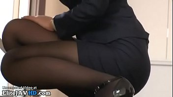 japanese tutor in stockings plumbed by student -.
