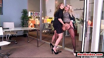 immense bumpers honey doing girl-on-girl xxx with silver-blonde 27