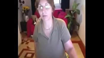 enormous naturals grandmother milena on home cam - creamzacom