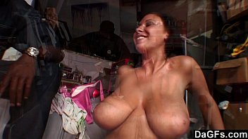 phat-titted dark-haired gets a mouthhole of.