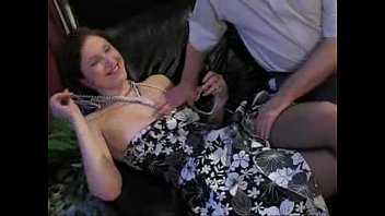 russian daddy and stepdaughter taboo family senior youthfull.