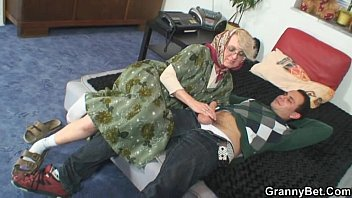 insatiable grannie gives up her senior.