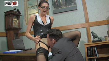 naughty chief sadie holmes lady dominance hj suck off