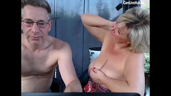 impressive gilf poking on cam elderly duo smashing webcam