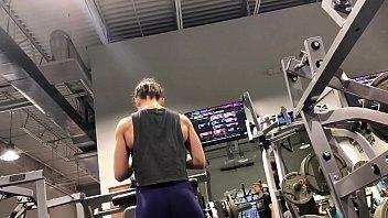 legging azul gym