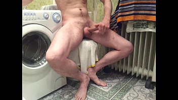 ample manmeat in shower