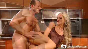 blondie and her hubby are plumbing.