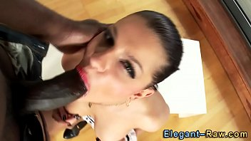 classy bi-atch analized thick dark-hued shaft