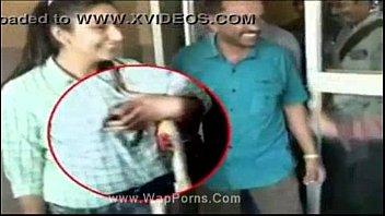 ragini dwivedi kannada actress breasts pressed.