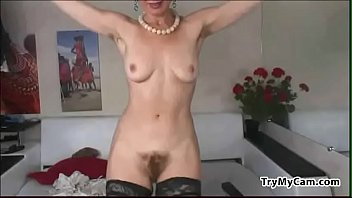 wooly grandmother in tights at trymycamcom