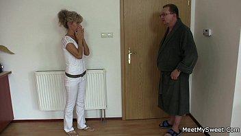 his elderly parents tricks her into.