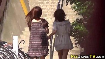 real asians public urinate