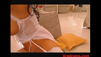 sandra from xredcamscom railing her faux.