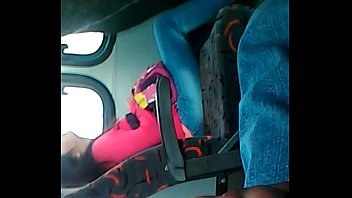 flash guy sausage in bus
