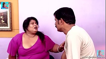 desimasalaco -thick aunty seducing two robbers giant cleavage.