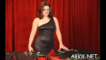 plus-size playgirl severe stimulation in conclude confine bondage episodes