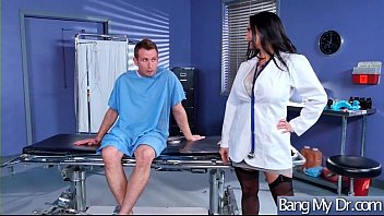 steaming insatiable patient ava addams lured by physician.