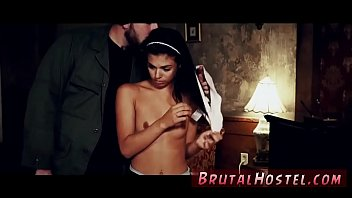 masculine hookup victim the innkeeper straps her to.
