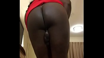 supah-hot chick flashes off her phat arse and.