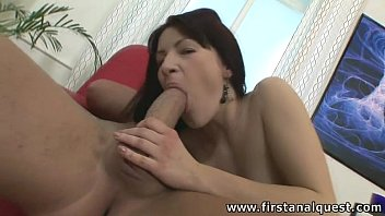 firstanalquestcom - buttfuck frolicking damsel loses her cherry.