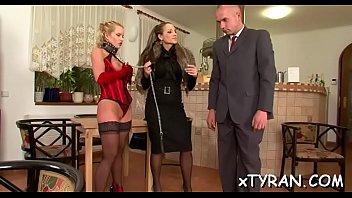 kinky mistress-superslut predominates man