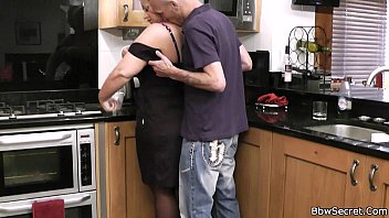 spouse caught hotwife in the kitchen