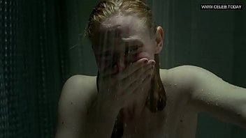 deborah ann woll - sideboob bathroom.