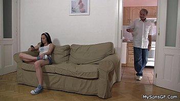 elderly boy lures steamy son039_s dame
