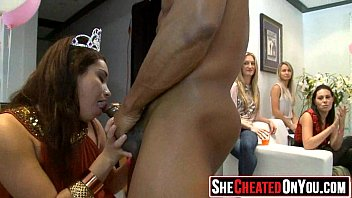 16 cougars taking sizzling fountains at secret cfnm party08