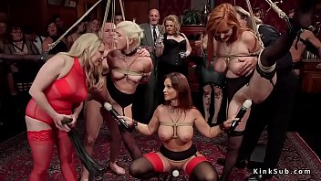 bound up gimps suffers lesbo domination.