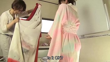 subtitled japanese kimono urinate desperation misfortune.