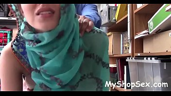 hijab dressed in arab nubile sexually abused for.