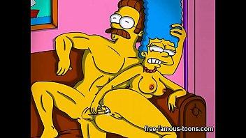 simpsons porno animation parody