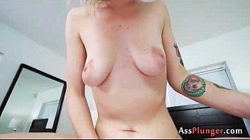 analsex with aubrey adore - assfucking inward cum.