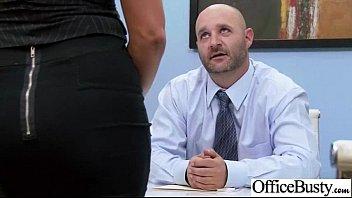fuckfest gauze in office with immense chubby bosoms.