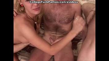 school silver-blonde nymph gets brains humped out by.