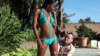 dark-hued dame domination manages milky victim
