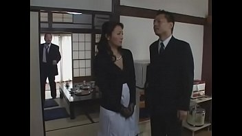 japanese japanese cougar pays off her husband039_s debts.