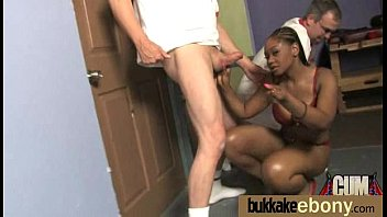 black gal group boned and frosted in spunk 8