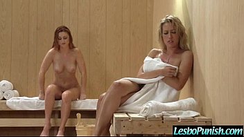 girl-girl woman capri amp_ karlie get stiff penalty.