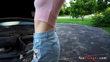 pornographic starlet aubrey adore - inked blondes backside.
