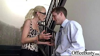hook-up gauze with real sluty thick knockers office.