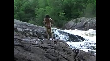 nude hiking at crimson granite falls by mark heffron