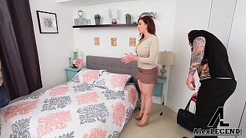 best 3some monstrous-titted cougar sara jay drills her.