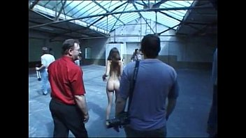 nude chick in public