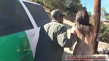 blond cop interracial latina stunner boned by the law
