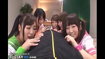 japanese supah-naughty college girls boink their schoolteacher -.