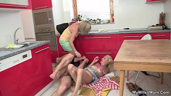 he nails silver-blonde motherinlaw at the.
