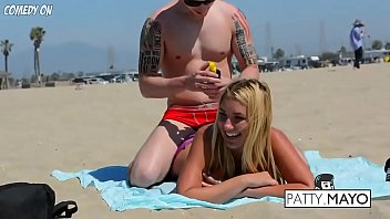 rubdown prank gone crazy smooching sizzling damsels on.