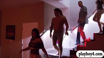 insane couples wild fuck-a-thon with swingers